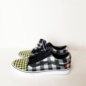 Vans Checkered Off The Wall Low Top, Sz M9 & W10.5